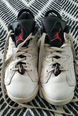 AIR JORDANS White Basketball Sneakers Shoes Size US 7 2015