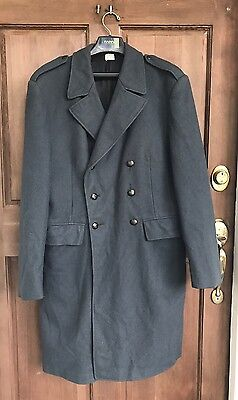 Swedish Army Wool Trench Coat