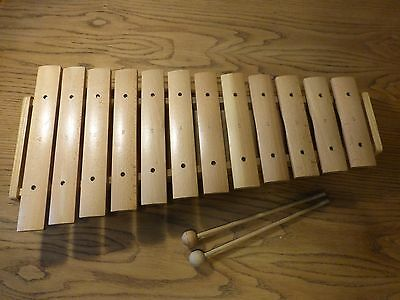 12 Note Traditional Wooden Xylophone - 60CM **REDUCED**
