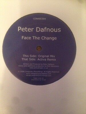 Peter Dafnous - Face The Change [Conspiracy]