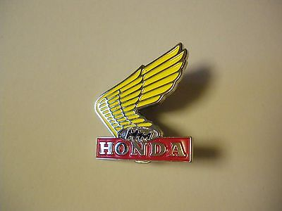 Honda Wing Lapel Pin Badge Top Quality - biker men's shed sports Motorcycle