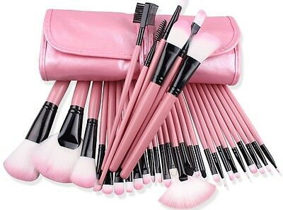 32tlg Make up Pinsel Professionelle Kosmetik brush makeup Set Schminkpinsel Neu
