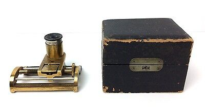 Chas Lowinson Thread Counting Micrometer ? by Chronik Bros. of NYC - Untested