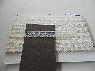 Card of New Lace - Cream