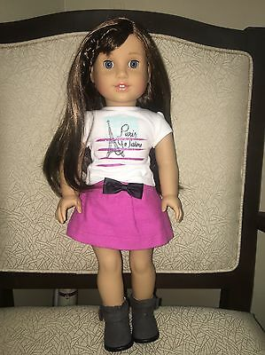 """2015 American Girl Of The Year Grace Thomas 18"""" Doll Genuine"""