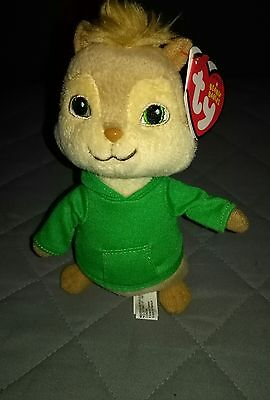 TY Beanie Baby Theodore from Alvin and the Chipmunks