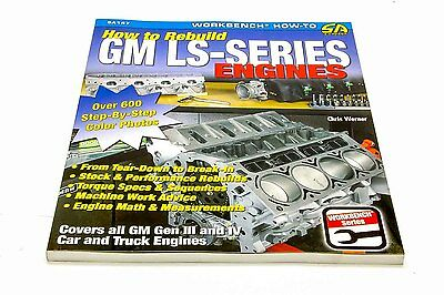 S-A Books How to Rebuild GM LS-Series Engines P/N 147