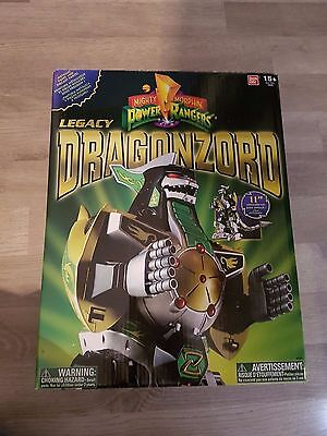 Mighty Morphin Power Rangers Legacy Dragonzord - MMPR, Green Ranger, Tommy, JDF,