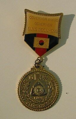 Collectable Lions Club Badge Governor Award Governor Sungwoonhong