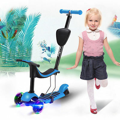 Scooter for kids 3 in 1 Push Kick Scooter LED Lights New Design
