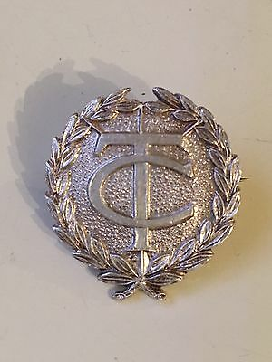 John Pinches Sterling Silver Pin Brooch Dated 1971