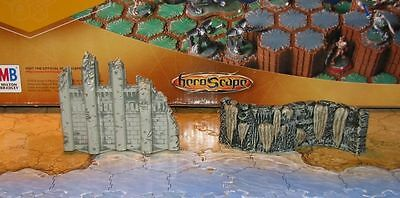 Heroscape Ruin Curved Wall Terrain Arena of the Planeswalkers fortress castle mm