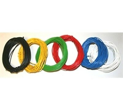 10m 7/0.2mm Stranded Equipment Wire - Choice of  Colours - Layout - Connecting
