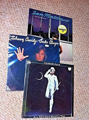 CLASSIC ROCK lot of vinyl records albums lp's ALL SEALED