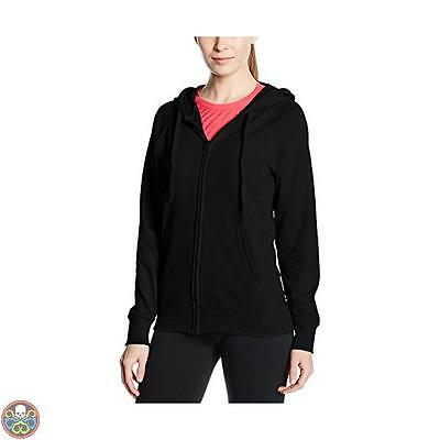 Fruit Of The Loom Tg: 50 Black Ss099M Cappuccio Donna X-Small Xx-Large Nuovo