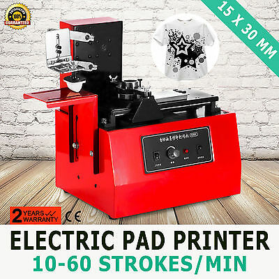 Electric Pad Printer Printing Machine T-Shirt Labeling Screen Printing
