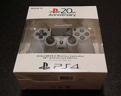 Sony PlayStation DualShock 4 Controller - 20th Anniversary Edition, Brand NEW