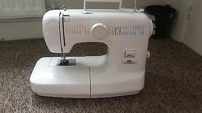 Victoria Electric Sewing Machine, with foot pedal, working