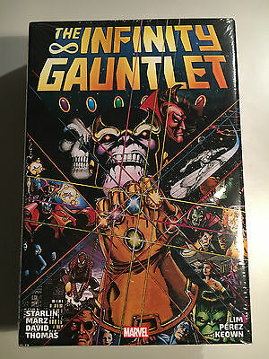 MARVEL: Infinity Gauntlet Omnibus HC - NEW/SEALED - OOP - FREE SHIPPING