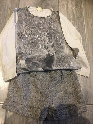 Girls Zara/Next shorts/top outfit, Age 5-6