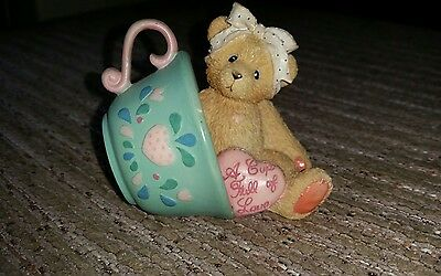 rare cherished teddies in a cup
