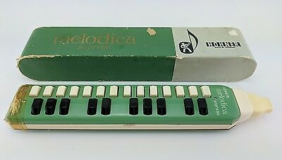 Vintage Melodica Hohner 25 Key Soprano Made in Germany With Original Box