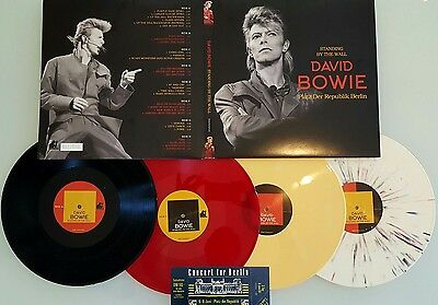 David Bowie Standing By The Wall Berlin 87 Vinyl 4 LPs New Rare Limited Numbered