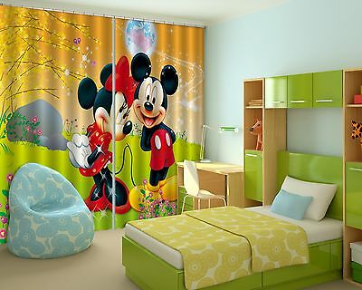 3D Cartoon  801 Blockout Photo Curtain Printing Curtains Drapes Fabric Window CA