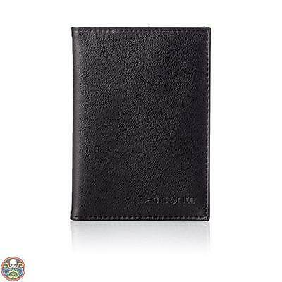 Samsonite Tg: Taglia Unica Nero Travel Accessor. V Passport Cover Nuovo