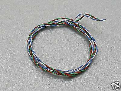 "CARDAS 33awg X4 Litz 475mm Twisted Pair Internal (12"") Tone Arm Cable"
