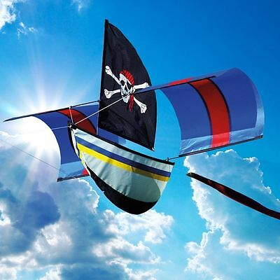 Pirate Boat Single Line Kite - By Brookite