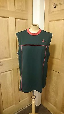 Rare Vintage Nike Air Jordan Basketball Vest Size MEDIUM