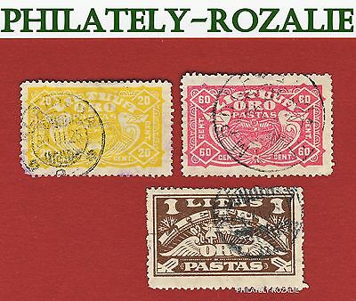 Lithuania Litauen  stamps  1924 Airmail 220
