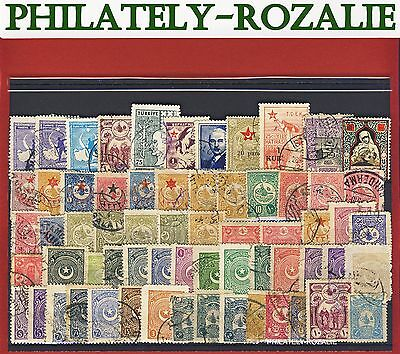 Old stamps mix Turkey 2