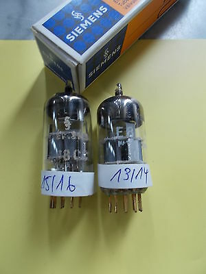 matched pair E88CC / 6922 /CCa SIEMENS 2nd category , see text