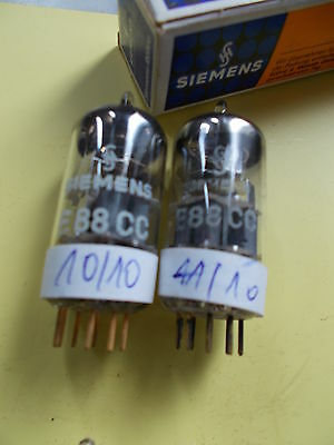 matched pair E88CC / 6922 /CCa SIEMENS 3rd category , see text
