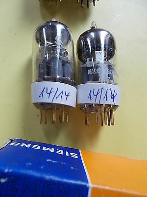 matched pair E88CC / 6922 / CCa, SIEMENS 2nd category , see text