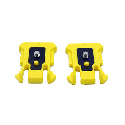 2x Buckle Connection Mount for Sony Action Cam HDR-AS200V AS300 AS100V AS20 AS50