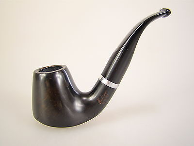 Molina Pipe Pfeife Made in Italy Barasso Black Poliert 9mm Filter #668