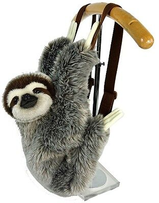 Sun Arrow Plush Wild Life Animals Sloth Stuffed Backpack 35cm Free Shipping
