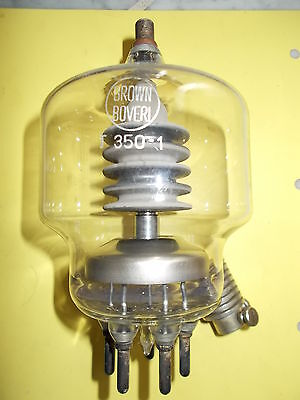 T350-1 BROWN BOVERI transmitter triode, new, see text