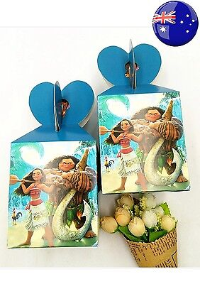 Moana Loot Bags Lolly Bags Candy Box Moana Party Supplies