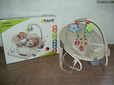 Hauck Leisure e-motion Babywippe Schaukel-Wippe mit Funktion Fruits
