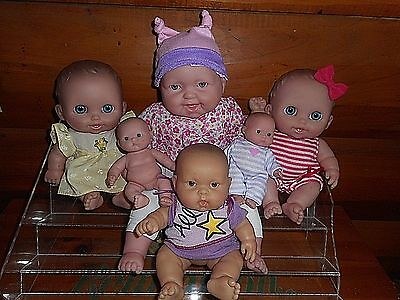 JC Toys Berenguer Lil Cutesies Mini Doll Family SO CUTE LOT