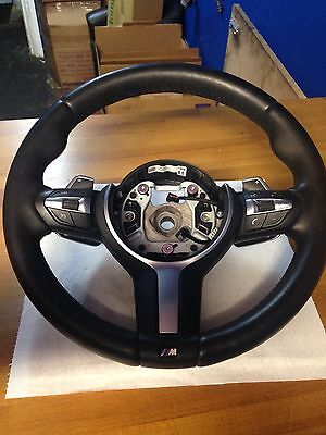 Genuine Bmw F30 F32 F33 M Sport Multifunction Steering Wheel With Sport Paddles