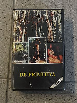 De Primitiva / Savage Terror - VHS Sweden -VideoTape Center - Horror - RARE
