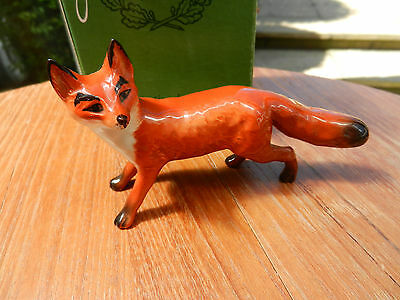 Beswick Fox Excellent With Box