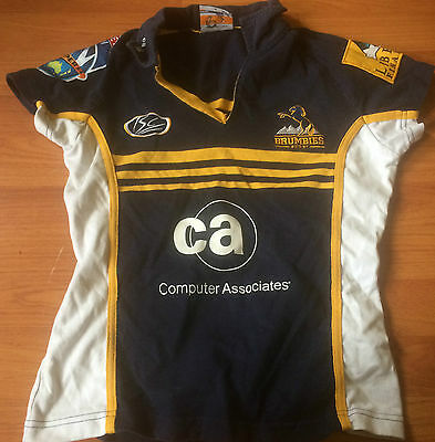 Rugby union Brumbies Jersey (size 8)