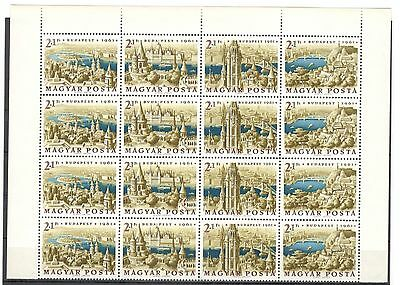 Hungary 1961  Block   MNH