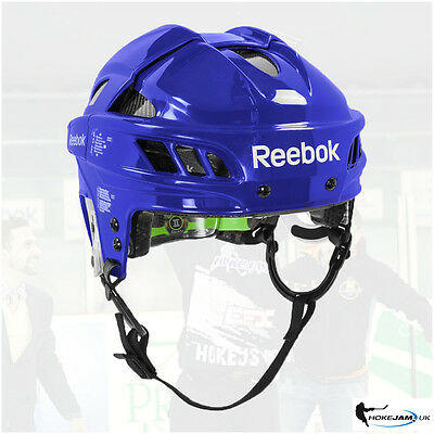 New Reebok 11K Hockey Helmet Color Blue Size -Senior Uk Stock Free Shipping
